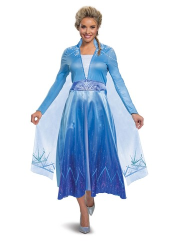 Frozen 2 Elsa Deluxe Costume for Ladies