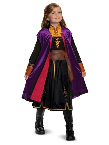 Frozen 2 Anna Deluxe Girls Costume