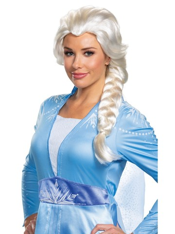 Frozen 2 Elsa Wig for Adults