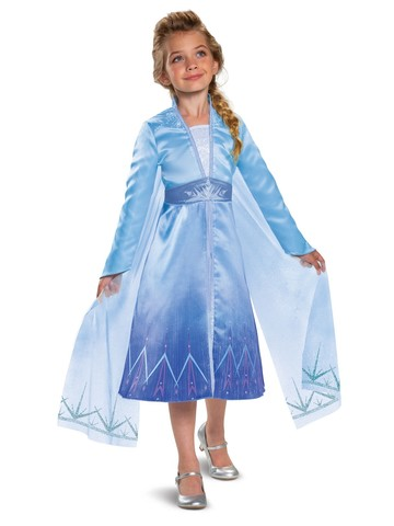 Elsa Prestige Frozen 2 Costume for Girls