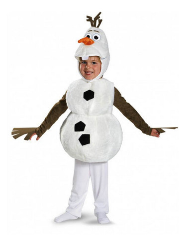 Child Melted Olaf Classic Frozen Costume