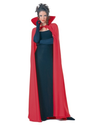 Full Length Red Cape