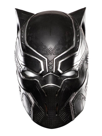 Black Panther Full Vinyl Kids Mask