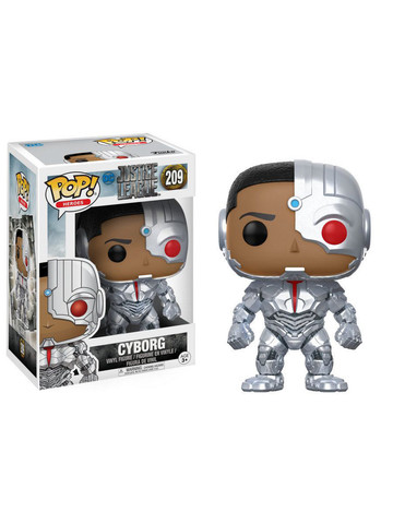 Funko POP Movies: DC - Justice League - Cyborg