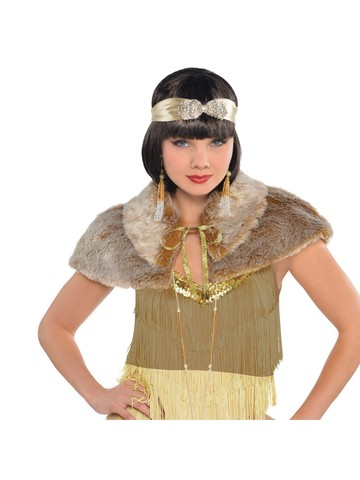 Furry Capelet 20's Accessory