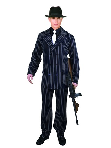 Gangster 6-Button Suit for Men