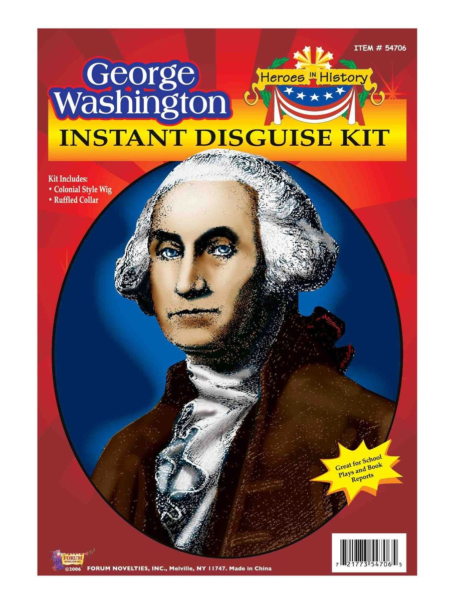 View larger image of Heroes In History - George Washington Accessory Kit