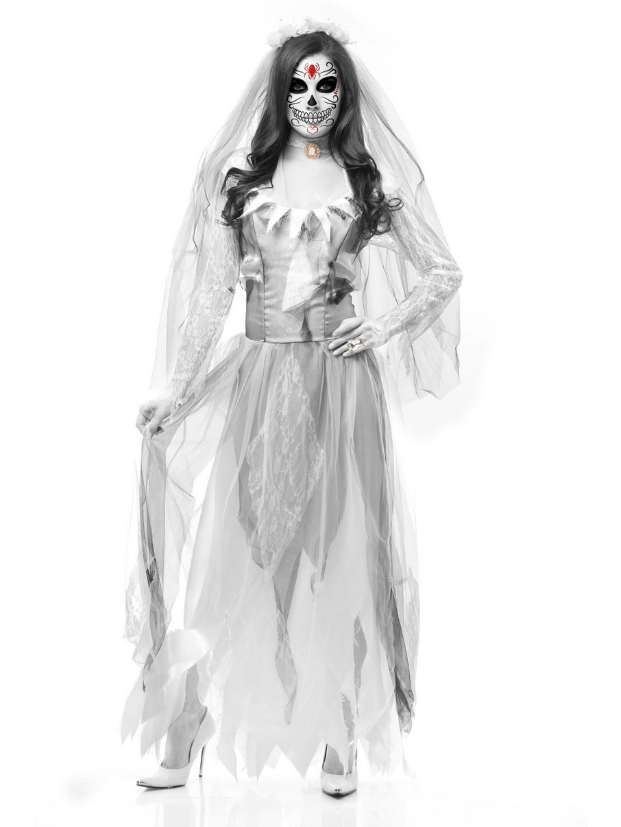 View larger image of Women's Ghost Bride Costume
