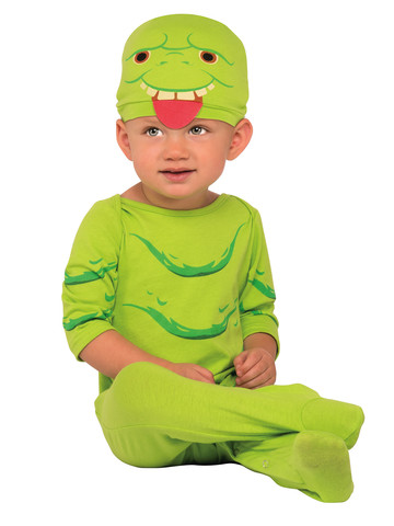 Ghostbusters Slimer Infant Jumpsuit