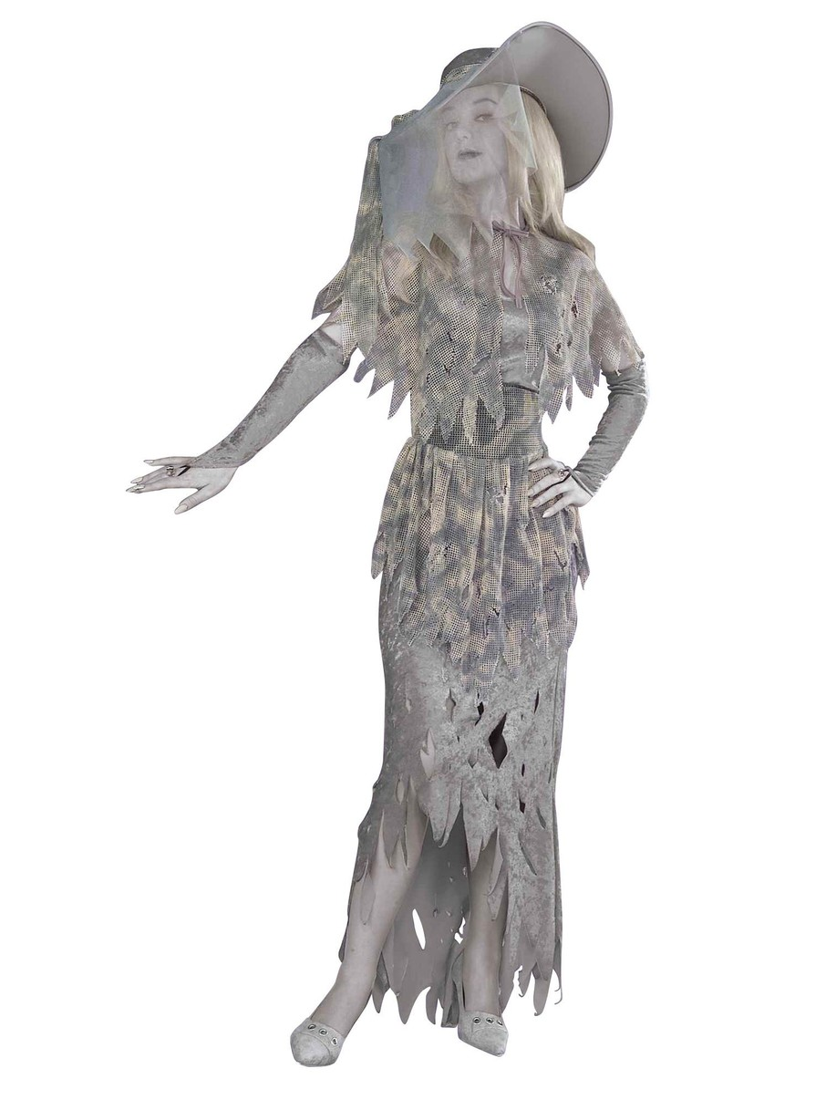 View larger image of Ghostly Gal Adult Costume