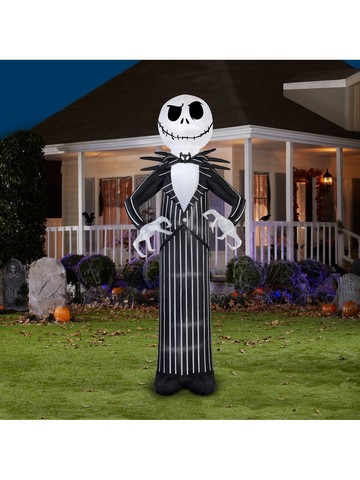 The Nightmare Before Christmas Giant Disney Jack Skellington Airblown Inflatable
