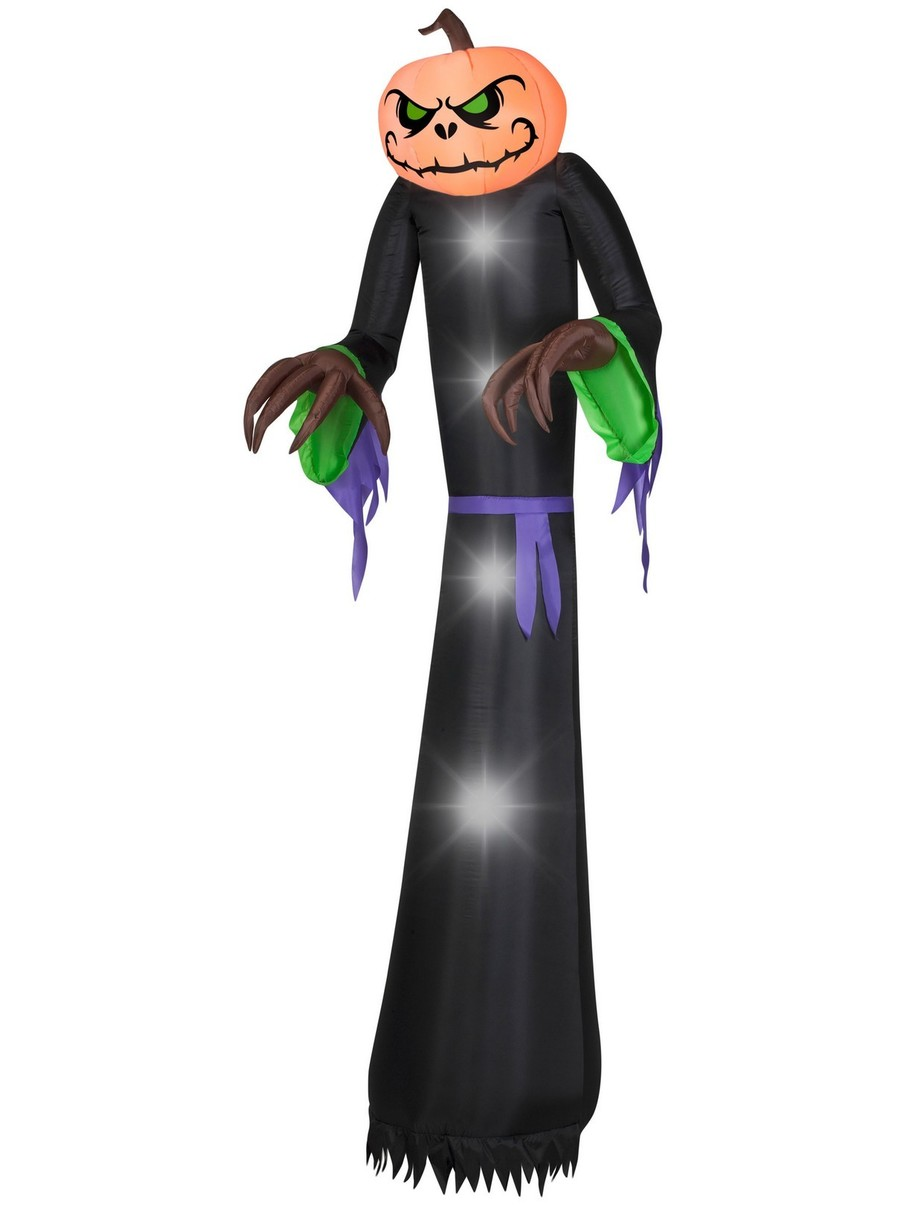 View larger image of Airblown Giant Pumpkin Reaper Decoration