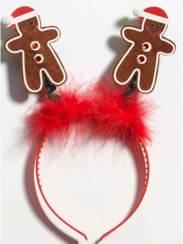 Gingerbread Bopper Costume Headband