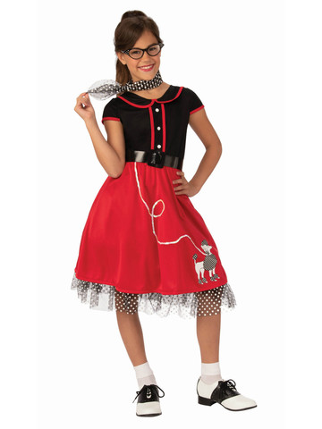 Red Sweetheart 50's Costume