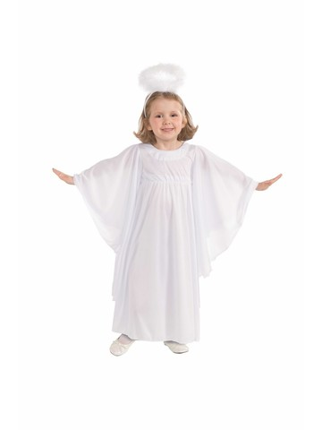 Angel Halo and Dress Girls Costume