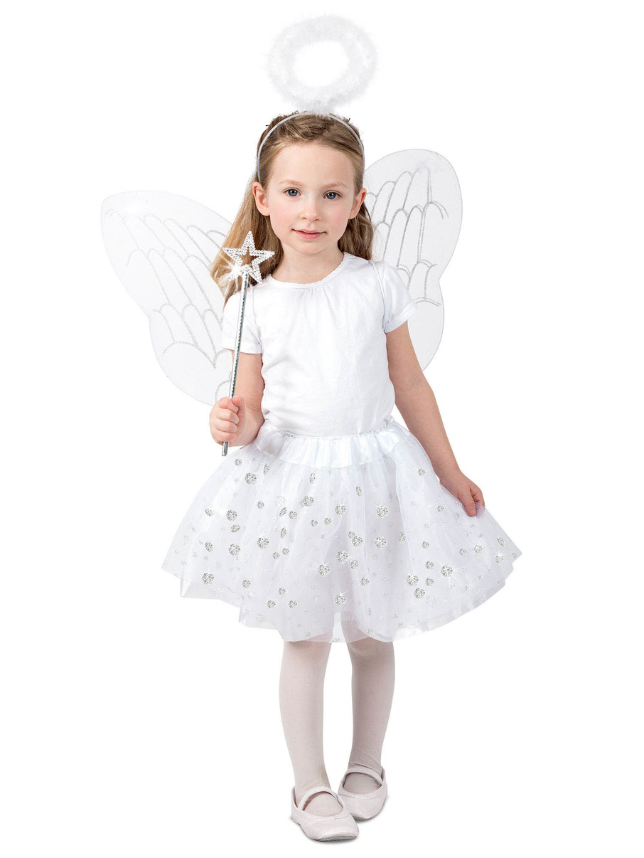 View larger image of Angel Skirt Set Costume for Girls