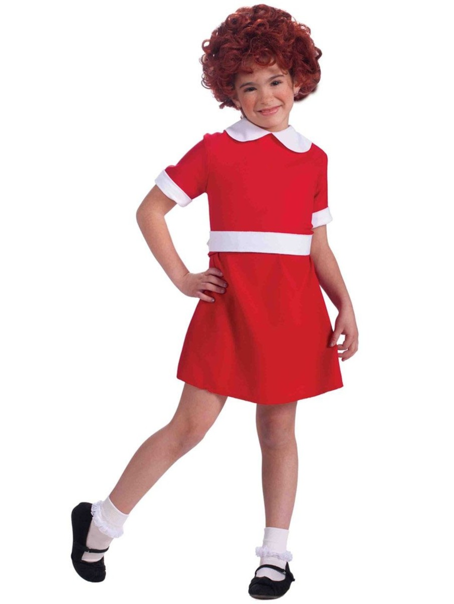 View larger image of Girls Annie Costume