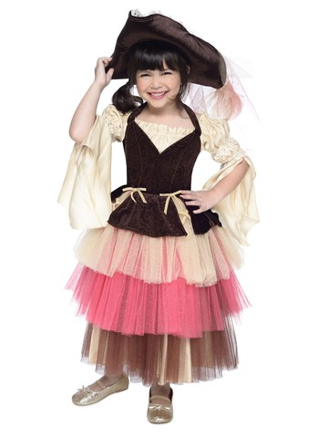 Toddler Audrey The Pirate Costume