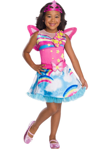Girls Barbie Fairy Costume