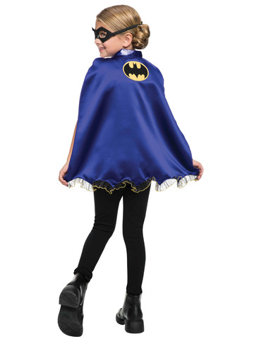 Girls Batgirl Mask and Cape Set