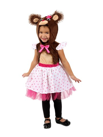 Belinda Bear Girl's Costume