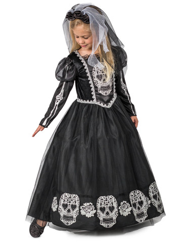 Bride of the Dead Costume for Girls