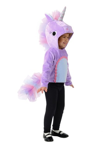 Girls Bright Unicorn Vest Child Costume