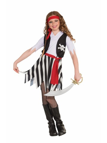 Angelica Pirates of the CaribbeanChild Girls Costume Large 10-12