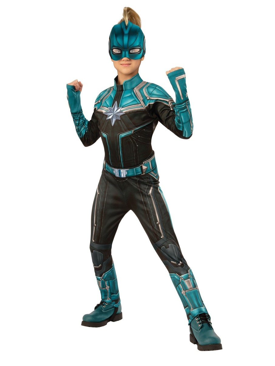 View larger image of Captain Marvel Kree Deluxe Kids Costume
