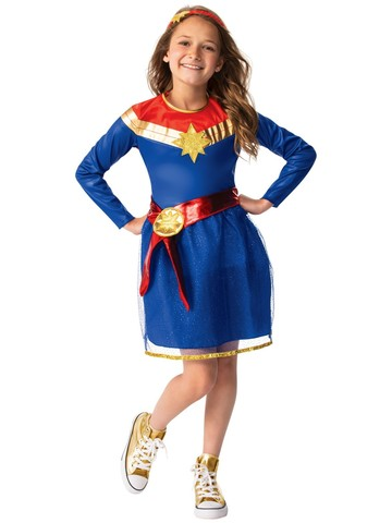 Captain Marvel Classic Tutu Dress Costume