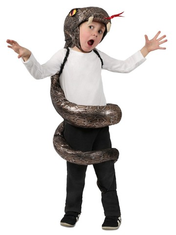 Slither Snake Girl's Costume