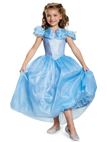 Girls Cinderella Movie Prestige Costume