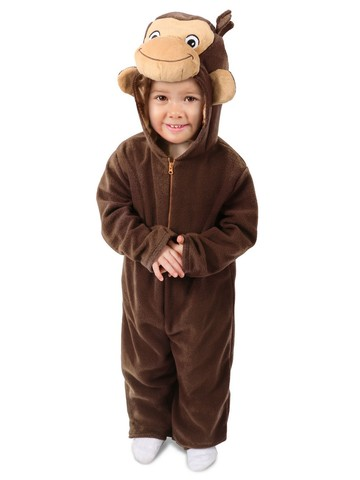 Curious George Girl's Costume