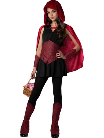 Dark Forest Child Red Riding Hood Costume