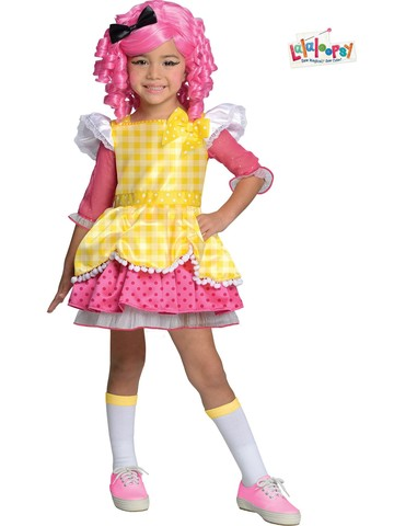 Girls Deluxe Lalaloopsy Crumbs Sugar Cookie Costume
