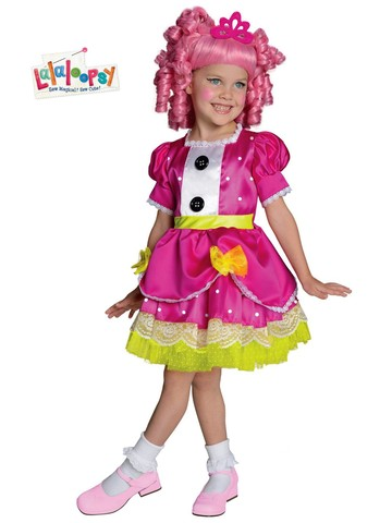 Girls Deluxe Lalaloopsy Jewel Sparkles Costume