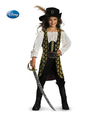 Girls Deluxe Pirates of the Caribbean Angelica Costume
