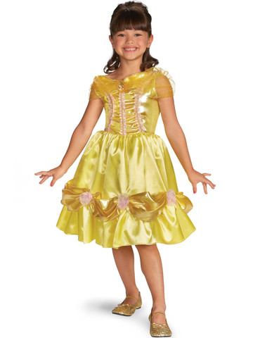 Girl's Disney Belle Sparkle Classic Costume