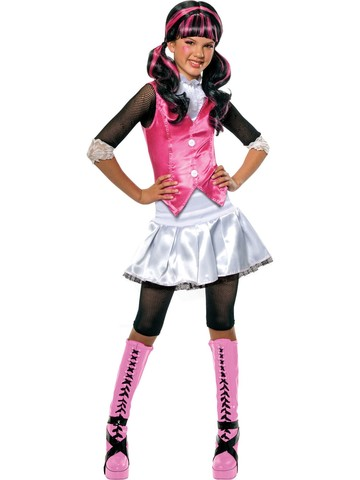 Girls Draculaura Monster High Costume