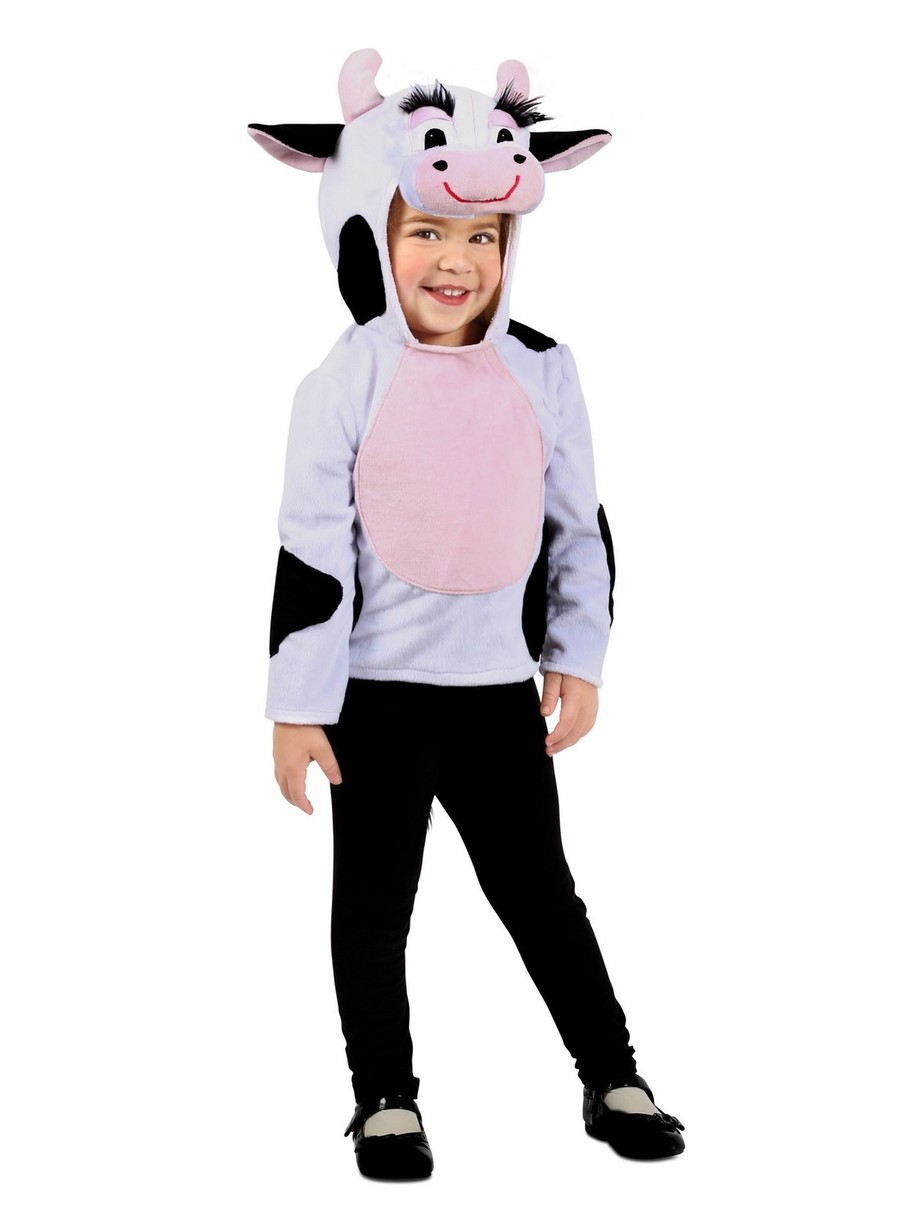 View larger image of Dylan the Cow Girl's Hoodie Costume