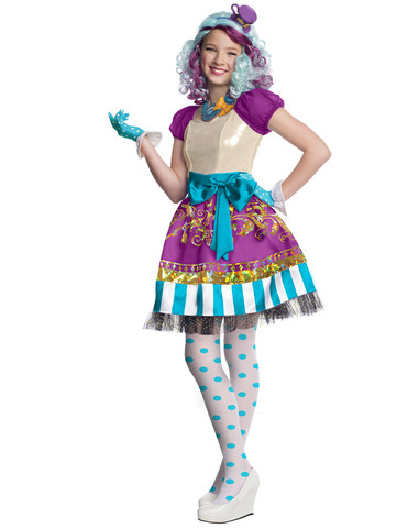 Girls Ever After High Madeline Hatter Costume