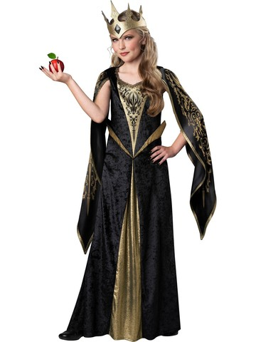 Girls Evil Queen Child Costume