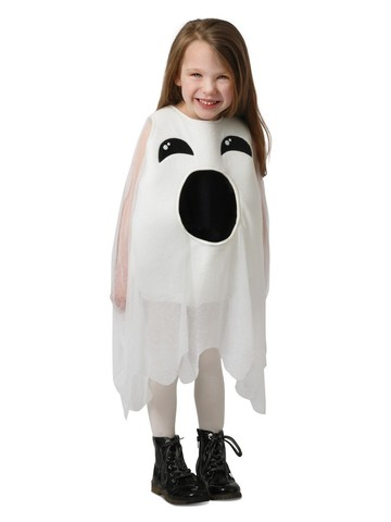 Girl's Ghost Feed Me Costume