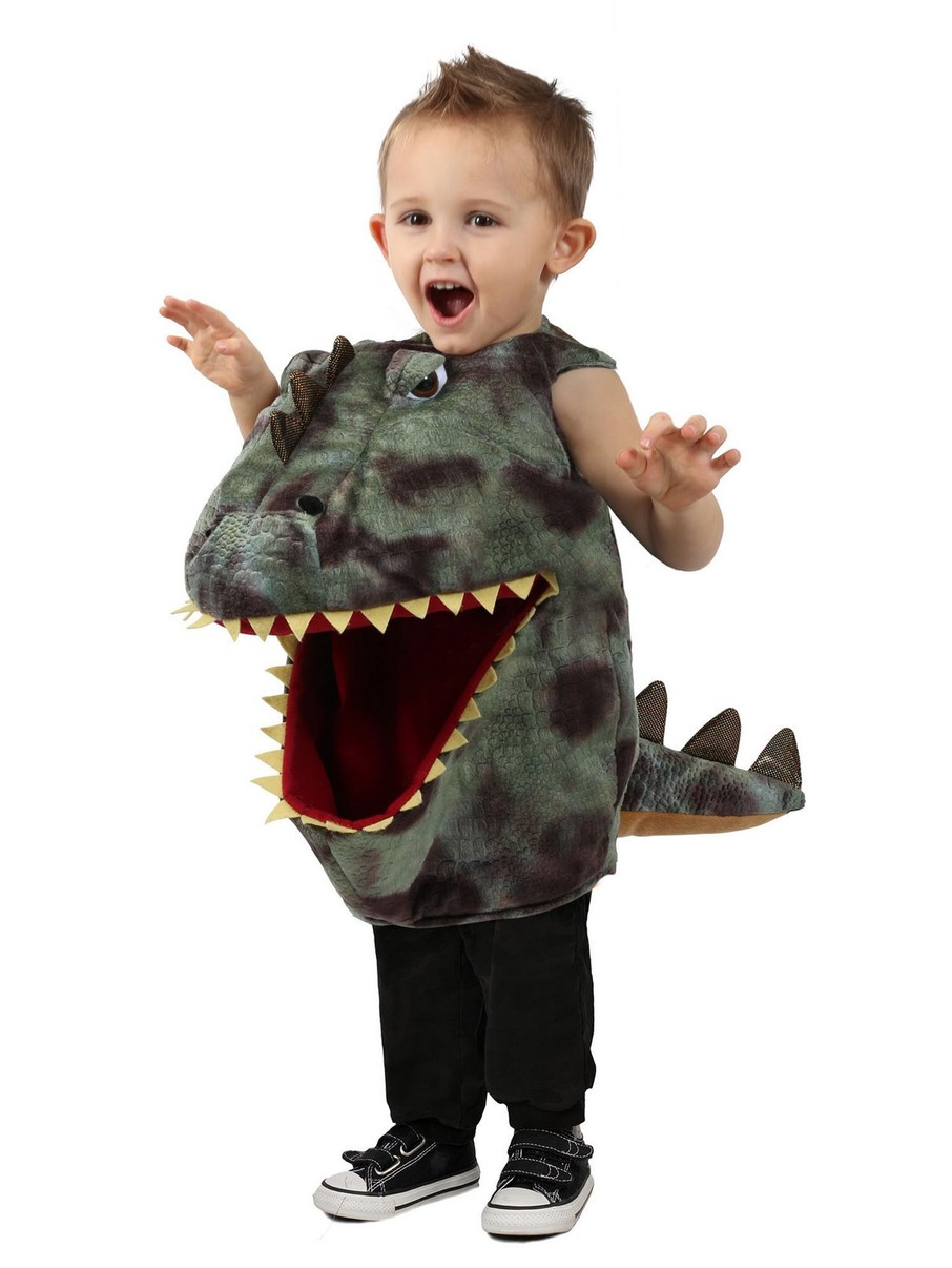 View larger image of Feed Me Girl's Dino Costume