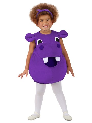 Rainbow Hippo Feed Me Costume for Girls