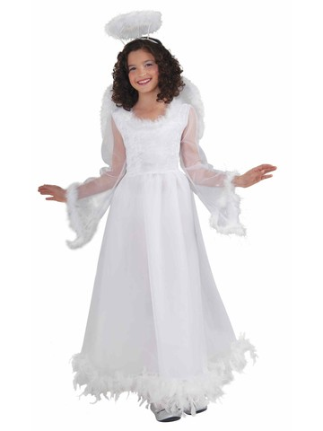 Girls Fluttery Angel Costume