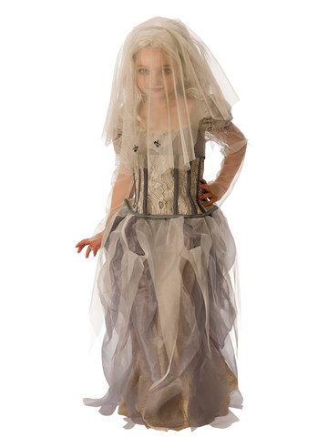 Ghost Bride Costume for Girls