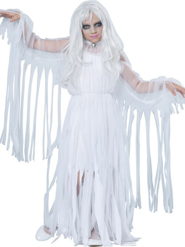 Girls Ghostly Girl Costume
