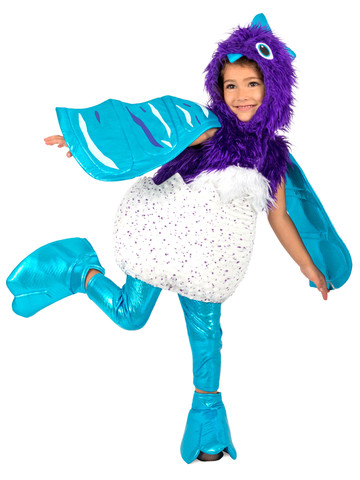 Girls Hatchable Hatchimal Draggle Costume