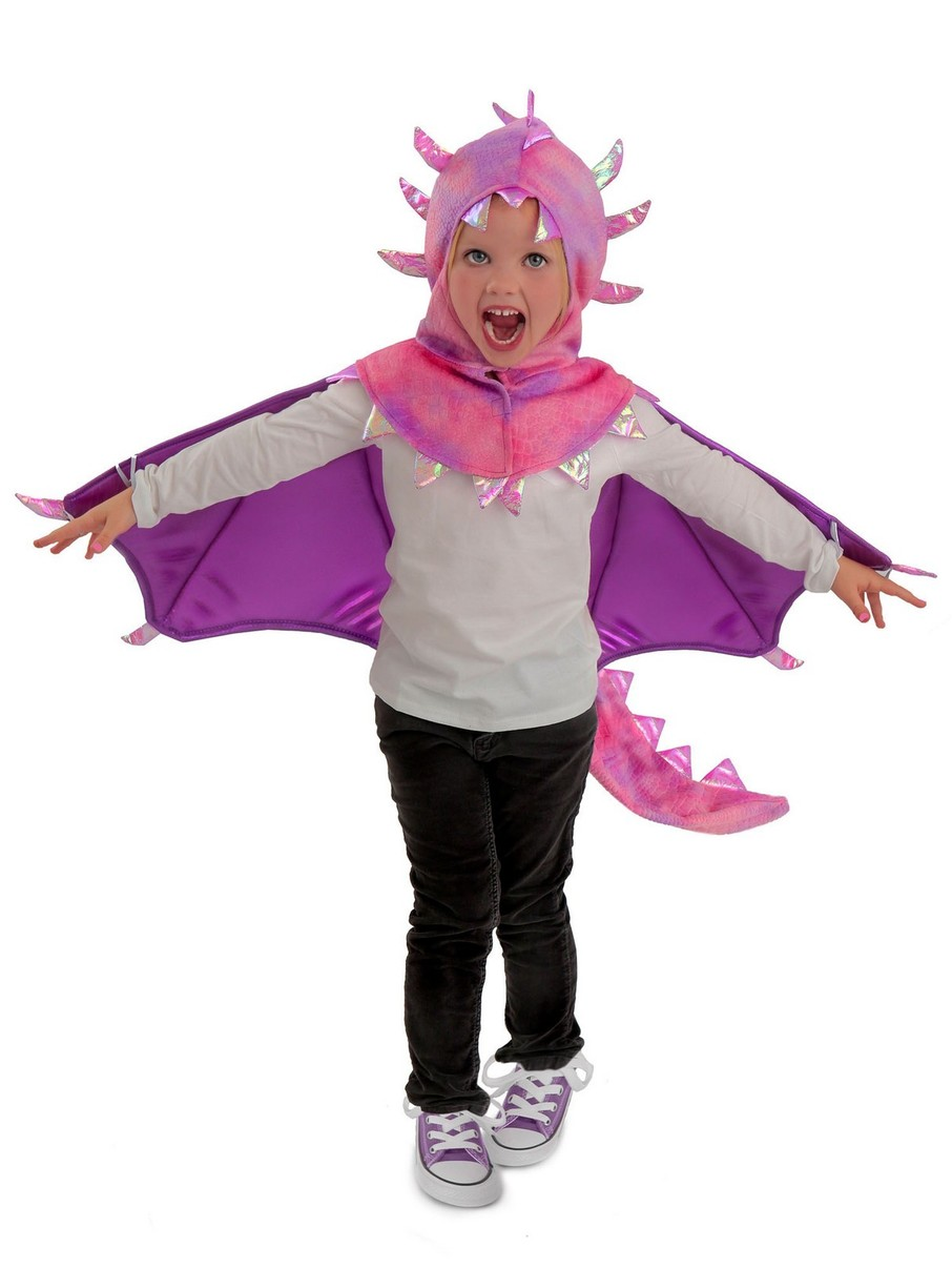View larger image of Sadie Dragon Hooded Girl's Costume